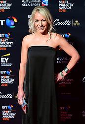 Gail Emms attending the BT Sport Industry Awards 2018 held at Battersea Evolution in Battersea Park, London.