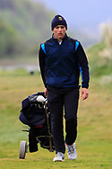 Giovanni Siani (Circolo Golf Villa d'Este)(ITA) walking to the 18th tee during Round 3 of the Ulster Boys Championship at Donegal Golf Club, Murvagh, Donegal, Co Donegal on Friday 26th April 2019.<br /> Picture:  Thos Caffrey / www.golffile.ie