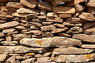 Dry stone wall on the Greek Island of Ios, Greece .<br /> <br /> Visit our GREEK HISTORIC PLACES PHOTO COLLECTIONS for more photos to download or buy as wall art prints https://funkystock.photoshelter.com/gallery-collection/Pictures-Images-of-Greece-Photos-of-Greek-Historic-Landmark-Sites/C0000w6e8OkknEb8