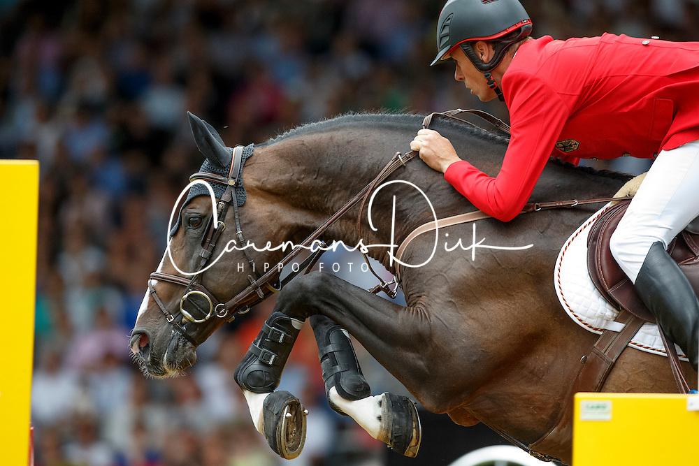 Ahlmann Christian, (GER), Taloubet Z<br /> Individual Final Competition round 2<br /> FEI European Championships - Aachen 2015<br /> © Hippo Foto - Dirk Caremans<br /> 23/08/15