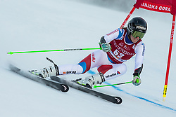 Camille Rast (SUI) during the Ladies' Giant Slalom at 57th Golden Fox event at Audi FIS Ski World Cup 2020/21, on January 16, 2021 in Podkoren, Kranjska Gora, Slovenia. Photo by Vid Ponikvar