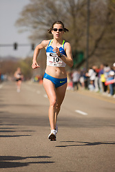 Kate O'Neill, at mile 19, but did not finish race