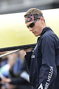London, United Kingdom,   05/04/2014,  Varsity, Boat Race, Putney, Championship Course,  River Thames;    [Mandatory Credit; Peter Spurrier/Intersport Images],<br /> <br /> Crews, OUBC., 3. Karl HUDSPITH,