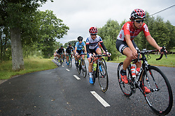 Ashleigh Moolman Pasio at the Crescent Vargarda - a 152 km road race, starting and finishing in Vargarda on August 13, 2017, in Vastra Gotaland, Sweden. (Photo by Sean Robinson/Velofocus.com)