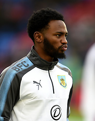 Burnley's Georges-Kevin N'Koudou warms up prior to kick off during the Premier League match at Selhurst Park, London.