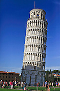 Leaning Tower of Pisa, Pisa, Tuscany, Italy