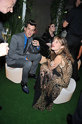 MARK RONSON and Josephine de La Baume at the 2009 Glamour Magazine Awards held in Berkeley Square, London on 2nd June 2009.