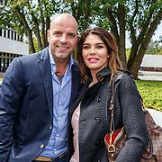 NLD/Hilversum20150825 - Najaarspresentatie RTL 2015, Andy van der Meyde en partner Melisa Schaufeli