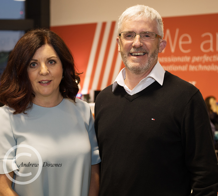21/02/2018 REPRO FREE  The 2018 Irish Fashion Innovation Awards was launched at Monaghans & Sons Ltd showrooms.<br /> <br /> The 2018 Irish Fashion Innovation Awards take place on March 22nd at The Galmont Hotel & Spa, Galway<br /> At the stylish launch was attended by Patricia McCrossan, Goldenegg and Leo Monaghan.<br />  Photo:Andrew Downes, XPOSURE