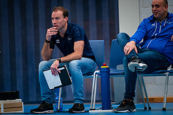 Trainer Coach Paul van der Ven of Sliedrecht in action during the first league match in the corona lockdown between Sliedrecht Sport vs. Draisma Dynamo on January 09, 2021 in Sliedrecht.