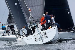 Largs Regatta Week 2017 <br /> <br /> Day 1 GBR3627L, Animal, Kevin Aitken, CCC/RNCYC, First 36.7<br /> <br /> Picture Marc Turner