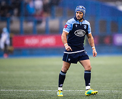 Matthew Morgan of Cardiff Blues<br /> <br /> Photographer Simon King/Replay Images<br /> <br /> Guinness PRO14 Round 2 - Cardiff Blues v Edinburgh - Saturday 5th October 2019 -Cardiff Arms Park - Cardiff<br /> <br /> World Copyright © Replay Images . All rights reserved. info@replayimages.co.uk - http://replayimages.co.uk