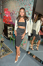 VISCOUNTESS WEYMOUTH at the launch of Matthew Williamson's 'Sea to Shore' range for The Outnet.com held at the Matthew Williamson's showroom, Studio 10-11, 135 Salusbury Road, London NW6 on 5th May 2016