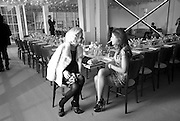 EVA HERZIGOVA; FRANCESCA VERSACE, BROWN'S 40TH ANNIVERSARY DINner. Regent Loft and Penthouses. Marshall St. London. 13 May 2010. -DO NOT ARCHIVE-© Copyright Photograph by Dafydd Jones. 248 Clapham Rd. London SW9 0PZ. Tel 0207 820 0771. www.dafjones.com.