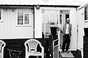 Post-war prefabs in Redditch, Uk, 2003