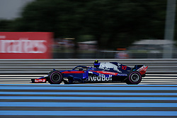 June 23, 2018 - Le Castellet, Var, France - Toro Rosso Driver PIERRE GASLY (FRA) in action during the Formula one French Grand Prix at the Paul Ricard circuit at Le Castellet - France (Credit Image: © Pierre Stevenin via ZUMA Wire)
