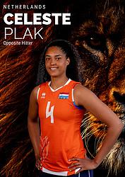 Celeste Plak of Netherlands, Photoshoot selection of Orange women's volleybal team season 2021on may 12, 2021 in Arnhem, Netherlands (Photo by RHF Agency/Ronald Hoogendoorn)