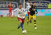 Fussball: Deutschland, 1. Bundesliga, Hamburger SV - BVB Borussia Dortmund, Hamburg, 20.11.2015<br /> <br /> Nicolai Müller (HSV)<br /> <br /> © Torsten Helmke