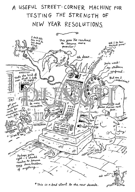1990 by Steve Appleby (A Useful Street-Corner Machine for Testing the Strength of New Year Resolutions)