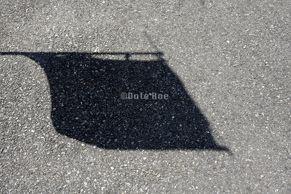 shadow of a flag Japan