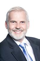 caucasian senior businessman portrait smile friendly isolated studio on white background
