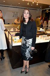 TANIA FARES at a party to celebrate the launch of the Monica Vinader London Flagship store at 71-72 Duke of York Square, London SW3 on 4th December 2014.