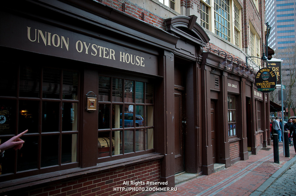 Union Oyster House, famous seafood grille restaurant, Boston, MA