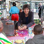 NLD/Amsterdam/20130701 - Keti Koti Ontbijt 2013 op het Leidse Plein, Hanneke Groenteman