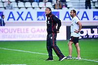 Guy NOVES / Jean Baptiste ELISSALDE - 24.04.2015 - Stade Francais / Stade Toulousain - 23eme journee de Top 14<br />