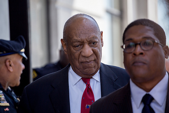 April 26, 2018 - Norristown, Pennsylvania, U.S - Actor BILL COSBY leaves the courtroom after being found guilty on three sexual assault charges in his retrial outside Philadelphia. (Credit Image: © Michael Candelori/ZUMA Wire)