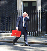 Cabinet meeting arrivals 19th July 2016
