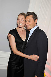 SEB & HEIDI BISHOP at the launch of Politics and The City - a new web site for women fusing politics with gossip, entertainment, news and fashion, held at the ICA, 12 Carlton House Terrace, London on 8th July 2008.<br /><br />NON EXCLUSIVE - WORLD RIGHTS