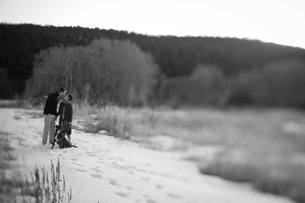 Jakob and Casey's Northern New Mexico winter wedding.