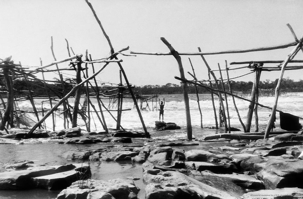 Wagenia Fishermen, Stanley Falls, (now Boyoma Falls, Democratic Republic of the Congo), Africa, 1937