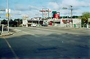 CS01180-16. Wisconsin Dells, Giftland Plaza, corner of Eddy St. & Broadway. November 7, 1965.