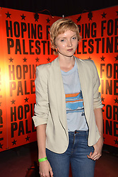 """Lily Cole at """"Hoping For Palestine"""" Benefit Concert For Palestinian Refugee Children held at The Roundhouse, Chalk Farm Road, England. 04 June 2018. <br /> Photo by Dominic O'Neill/SilverHub 0203 174 1069/ 07711972644 - Editors@silverhubmedia.com"""