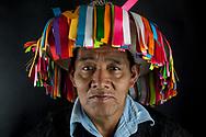 Partecipante al CNI di cultura Tzotzil, proveniente da Chenalhó, Chiapas.