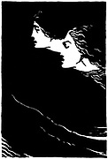 Paolo and Francesca' Early 20th century illustration for the poem by Dante Alighieri (1265-1321), Italian poet.