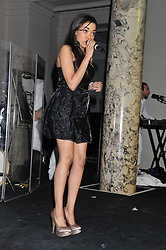 DIONNE BROMFIELD at the 50th birthday party for Jonathan Shalit held at the V&A Museum, London on 17th April 2012.