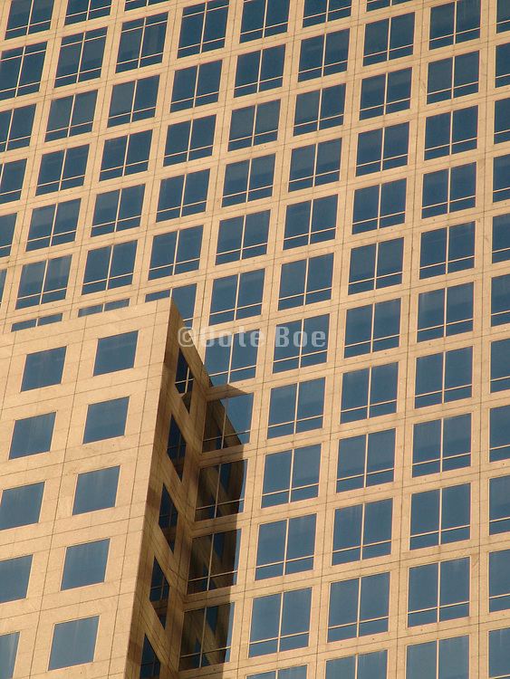 Close up of an office high rise