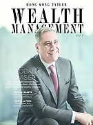 Portrait of Bassam Salem, CEO of the Citi Private Bank Asia Pacific, for Wealth Management, Hong Kong Tatler Nov 2017 issue. Photo by Moses Ng / Mozimages for Hong Kong Tatler