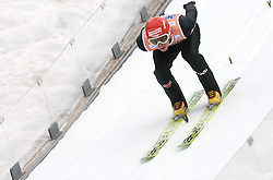 Michael Uhrmann (GER) at Flying Hill Individual in 2nd day of 32nd World Cup Competition of FIS World Cup Ski Jumping Final in Planica, Slovenia, on March 20, 2009. (Photo by Vid Ponikvar / Sportida)