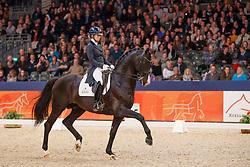 Fry Charlotte, NED, Everdale<br /> KWPN Stallionshow - 's Hertogenbosch 2018<br /> © Hippo Foto - Dirk Caremans<br /> 02/02/2018