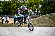 #29 (HUISMAN Ruby) NED during practice at Round 3 of the 2019 UCI BMX Supercross World Cup in Papendal, The Netherlands
