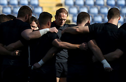 February 8, 2019 - Rome, Italy - Wales captain's run - Rugby Guinness Six Nations .Wales rugby captain's run in view of the match versus Italy. Alun Wyn Jone with the teammates at Olimpico Stadium in Rome, Italy on February 8, 2019. (Credit Image: © Matteo Ciambelli/NurPhoto via ZUMA Press)
