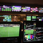 The BOC, Broadcast Operation Centre at the NBC Sports Network studios in Stamford, Connecticut, during Saturday morning live broadcasts of English Premier League games. Stamford,  Connecticut, USA. 21st September 2013. Photo Tim Clayton