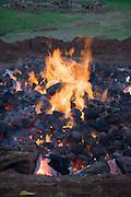 Key Project, Imu cooked turkey, Kaneohe, Oahu, Hawaii