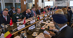 Secretary of Defense Jim Mattis attends a Global Coalition on the Defeat of ISIS meeting at Eigtveds Pakhus in Copenhagen, Denmark, May 9, 2017. (DOD photo by U.S. Air Force Staff Sgt. Jette Carr)