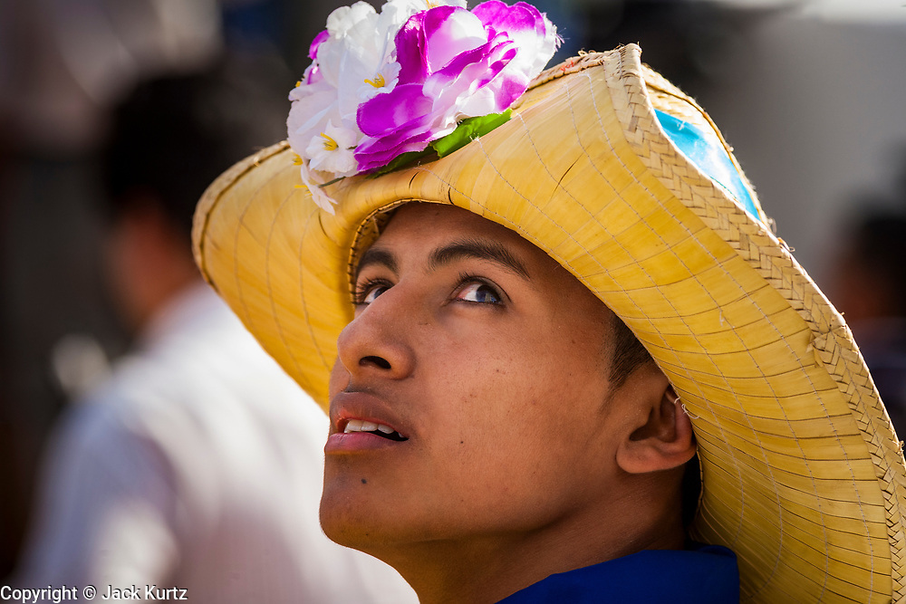 """10 JANUARY 2007 - MANAGUA, NICARAGUA: Nicaraguan folkloric dancers wait to perform at the inauguration of Daniel Ortega in Managua. Ortega, the leader of the Sandanista Front, was sworn in as the President of Nicaragua Wednesday. Ortega and the Sandanistas ruled Nicaragua from their victory of """"Tacho"""" Somoza in 1979 until their defeat by Violetta Chamorro in the 1990 election.  Photo by Jack Kurtz"""
