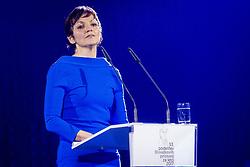Dr. Maja Makovec Brencic, 53. podelitev Bloudkovih priznanj za leto 2017, on February 16, 2018 in Brdo pri Kranju, Kranj, Slovenia. Photo by Ziga Zupan / Sportida